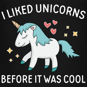 I Liked Unicorns - Kids' Premium T-Shirt