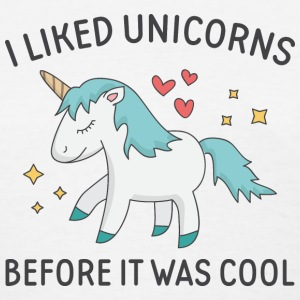 I Liked Unicorns - Women's T-Shirt