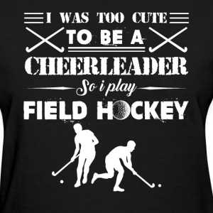 Field Hockey Girl Shirts - Women's T-Shirt