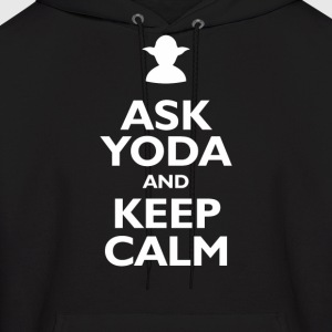 Keep Calm and Ask Yoda - Men's Hoodie