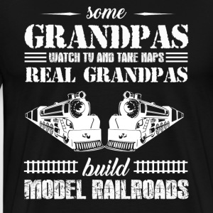 Model Rairoads T shirt - Men's Premium T-Shirt