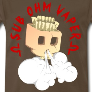 sub ohm vaper - Men's Premium T-Shirt
