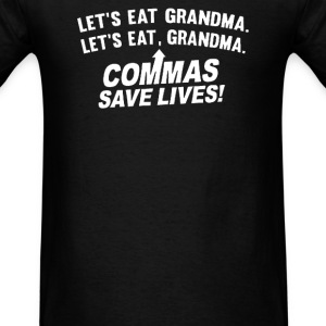 COMMAS SAVE LIVES - Men's T-Shirt