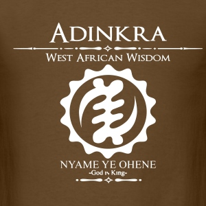 Adinkra-God is King - Men's T-Shirt