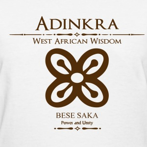 Adinkra-Power and unity - Women's T-Shirt