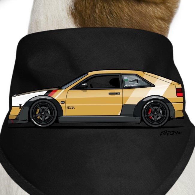 Corrado VR6 VRT Time Attack Track Car | Dog Bandana