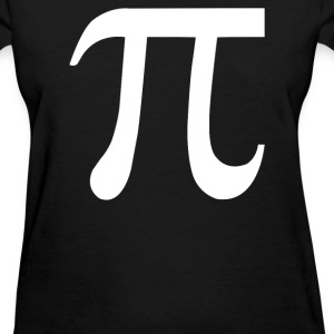 Pi Symbol - Women's T-Shirt