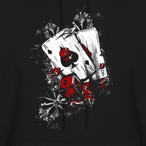 Poker Player Dbl Ace - Men's Hoodie
