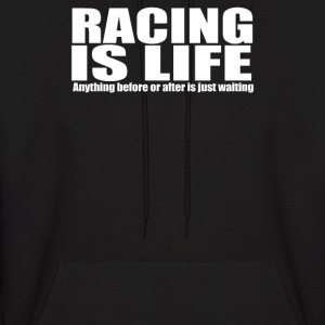 racing motor bike - Men's Hoodie