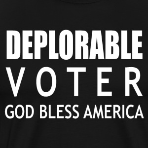 Deplorable Voter - Men's Premium T-Shirt