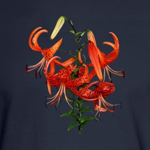 Tiger Lilies Long Sleeve Shirts - Men's Long Sleeve T-Shirt