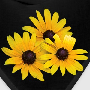 Trio of Black-Eyed Susans Caps - Bandana