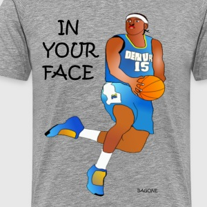In Your Face T-Shirts - Men's Premium T-Shirt