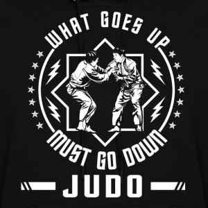 What Goes Up Must Come Down Judo Women's Hoodies - Women's Hoodie
