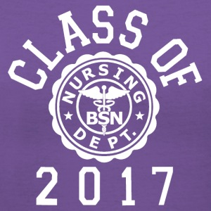 Class Of 2017 BSN T-Shirts - Women's V-Neck T-Shirt