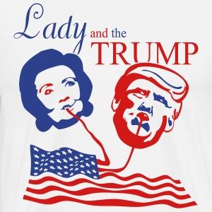 Lady and the Trump tee - Men's Premium T-Shirt