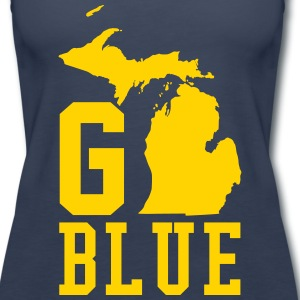Go BLUE Tanks - Women's Premium Tank Top