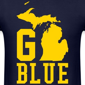 Go BLUE T-Shirts - Men's T-Shirt
