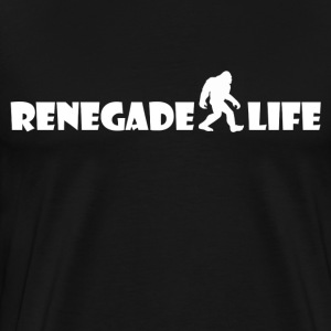 Renegade Life - White - Men's Premium T-Shirt