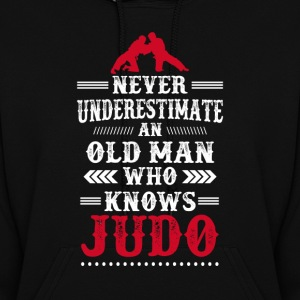 An old Man Who knows Judo Women's Hoodie - Women's Hoodie