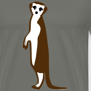 Meerkat look T-Shirts - Men's Premium T-Shirt