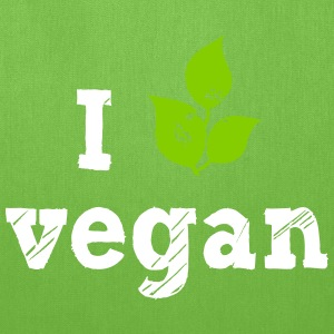 I love vegan Bags & backpacks - Tote Bag
