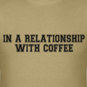 RELATIONSHIP WITH COFFEE T-Shirts - Men's T-Shirt