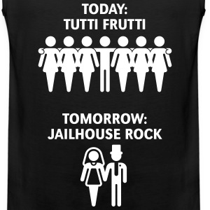 Today: Tutti Frutti – Tomorrow: Jailhouse Rock  Sportswear - Men's Premium Tank