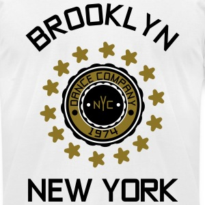 Brooklyn - New York T-Shirts - Men's T-Shirt by American Apparel