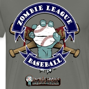 Zombie League Baseball T-Shirts - Men's Premium T-Shirt