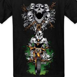Skull Tree Halloween Kids' Shirts - Kids' T-Shirt