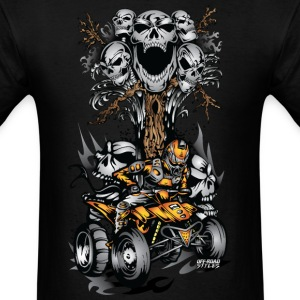 ATV Skulltree Halloween T-Shirts - Men's T-Shirt