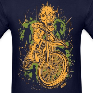 Motocross Halloween T-Shirts - Men's T-Shirt