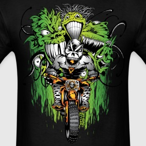 Motocross Ghouls T-Shirts - Men's T-Shirt