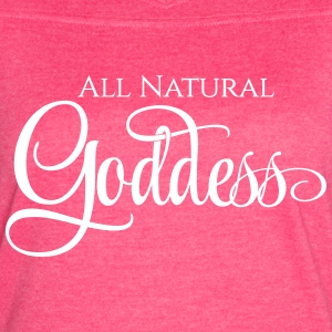 All Natural Goddess - Women's Vintage Sport T-Shirt