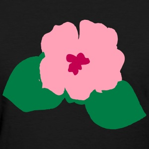 Flower with Two Petals - Women's T-Shirt