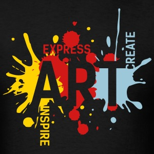ART. Yellow, Red, Blue. For Men - Men's T-Shirt