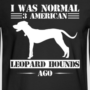 American Leopard Hound - Men's Long Sleeve T-Shirt