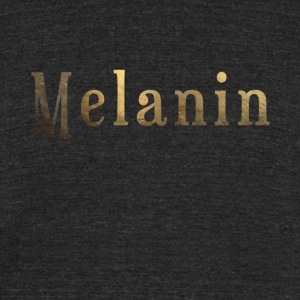 Unisex Melanin 3 - Unisex Tri-Blend T-Shirt by American Apparel
