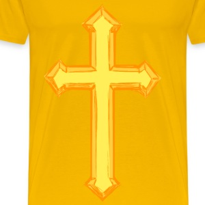 Cross 3 (colour) - Men's Premium T-Shirt