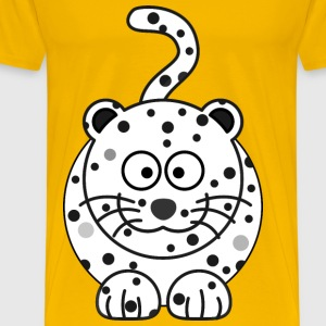 WHITE cheetah - Men's Premium T-Shirt