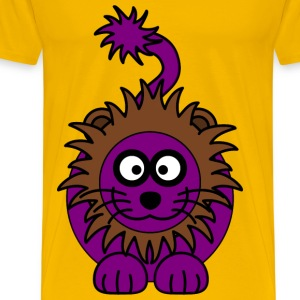 Purple Lion - Men's Premium T-Shirt
