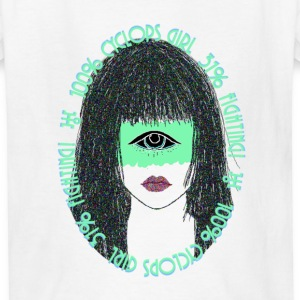 100% Cyclops Girl - Kids' T-Shirt