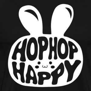 Hop Hop Happy Men's Black - Men's Premium T-Shirt