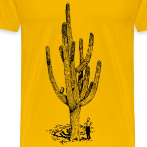 Giant cactus - Men's Premium T-Shirt