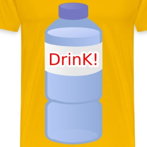 Small Water Bottle - Men's Premium T-Shirt