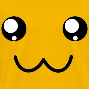 Cute Smiley Face - Men's Premium T-Shirt