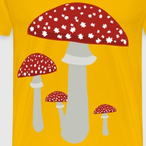 Mushrooms 4 - Men's Premium T-Shirt