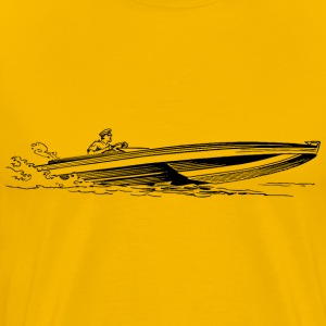 Speedboat - Men's Premium T-Shirt