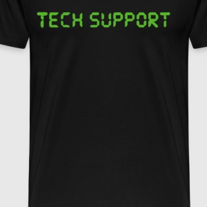 Tech Support Funny Logo - Men's Premium T-Shirt
